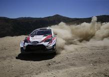 WRC 2019. Portogallo. T3T. Tanak e 3 Toyota al comando