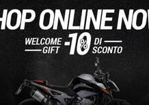 LeoVince: debutta l'e-commerce