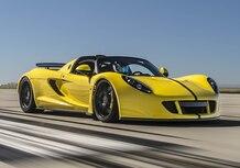 Hennessey Venom GT Spyder, la spider più veloce del mondo: 427,44 km/h [Video]