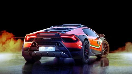 Lamborghini Huracan Sterrato, supercar da offroad (4)