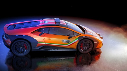 Lamborghini Huracan Sterrato, supercar da offroad (7)