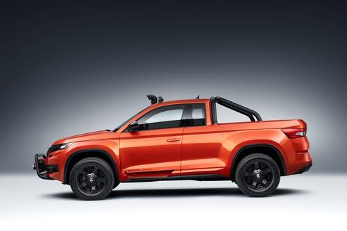 Skoda Mountiaq Concept, la Kodiaq diventa pick-up (2)