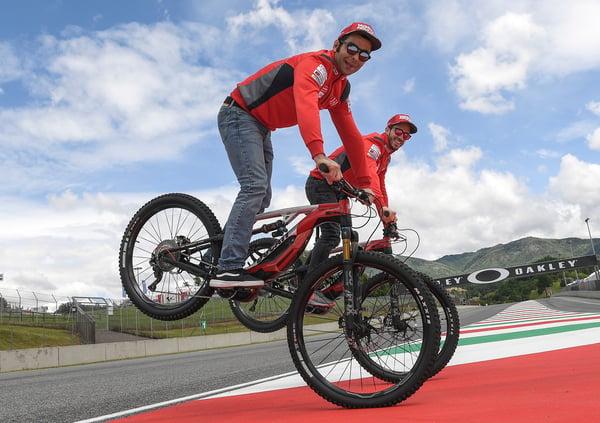Ducati MIG-RR, le eBike di Petrucci e Dovizioso