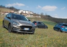 Ford Active, La gamma Crossover dell'ovale blu: al volante di Ka+, Fiesta e Focus [video]