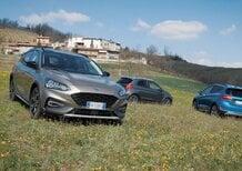 Ford Active, La gamma Crossover dell'ovale blu: al volante di Ka+, Fiesta e Focus [video]
