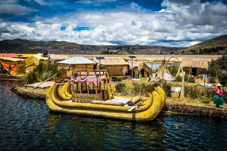 Dakar Rewind. Sud America. 7. Un Viaggio Indimenticabile Durato 10 Anni. Lago Titicaca