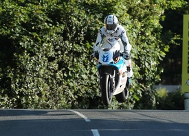 Michael Rutter sulla Mugen a Ballaugh Bridge