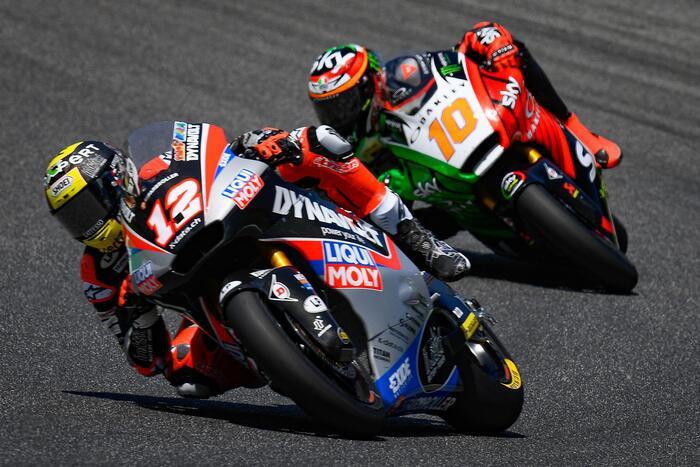 Thomas Luthi e Luca Marini al GP del Mugello