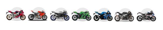 Confronta il listino delle sette moto oggetto della comparativa