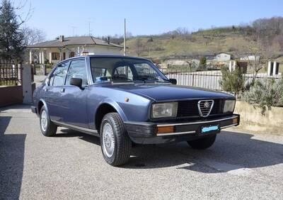Alfetta 2.0 d'epoca del 1979 a Prato