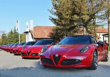 Alfa Romeo 4C Club Italia: 17 esemplari inarrivabili