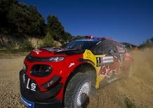 WRC 2019 Italia di Sardegna. Shakedown. Ombre Rosse
