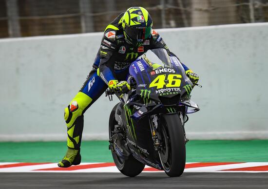 "MotoGP 2019. Rossi: ""Moto standard e nessuna aspettativa"""