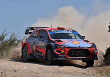 WRC19 Italia Sardegna. Dani Sordo, Hyundai, In Paradiso. Tanak…