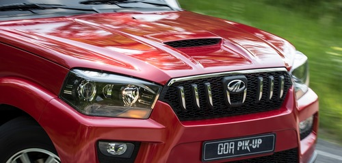 Mahindra Goa Pik-Up Plus, rinnovato il pick-up indiano (3)