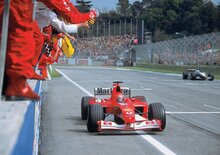 F1: Michael Schumacher, all'asta la sua Ferrari F2002