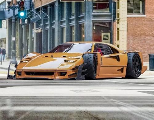 La spettacolare Ferrari F40 V12 di Yasid Design