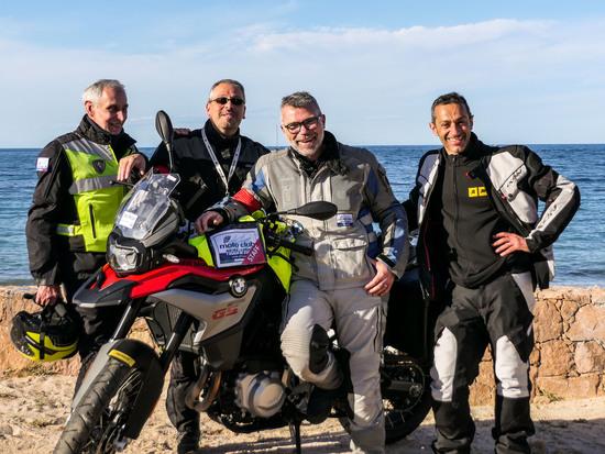 il nostro Antonio Privitera con il Presidente del MCPS Francesco Capelli e con i due Vice Presidenti Salvo Bonsignore e Mauro Frisciotti