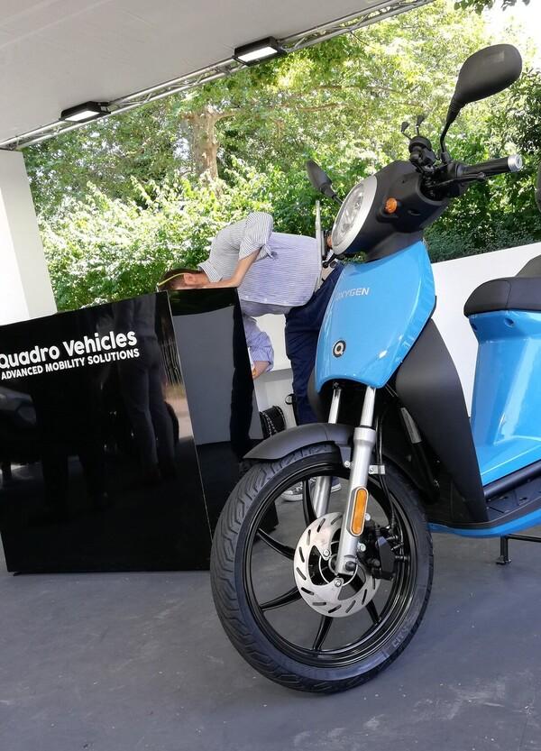 Quadro Oxygen: il TEST dello scooter elettrico per la città