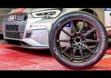 Gomme racing uso pista, Come si leggono e montano: Michelin Pilot Sport su Audi RS3 LMS [video]