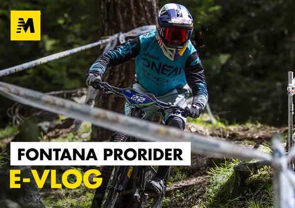 Fontana ProRider e-Vlog: il nuovo software Shimano e il podio in gara!