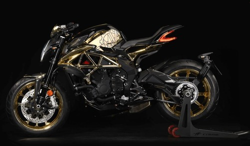 MV Agusta Dragster RC Shining Gold. Oro puro (2)