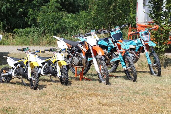 Al Pollaio i piccoli possono imparare ad andare in moto grazie ai ragazzi di MUD