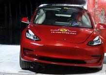 Tesla Model 3: per Euro NCAP promossa con 5 stelle