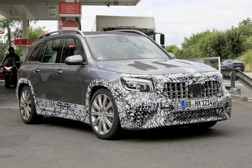 Mercedes-AMG GLB 45, le foto spia (5)
