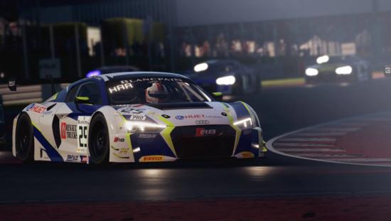 L'Audi R8 GT3 è tra le vetture preferite dai simracers. Agile, veloce e bilanciata