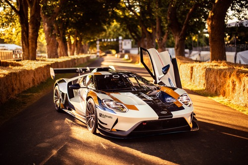 Ford GT MKII, debutto a Goodwood (6)