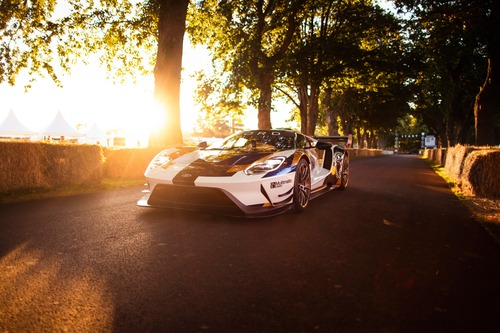Ford GT MKII, debutto a Goodwood (2)