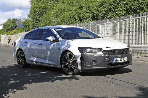Opel Insignia restyling, le foto spia  (4)