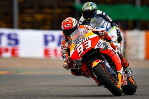 MotoGP 2019. Márquez è il più veloce nelle FP2 in Germania (3)