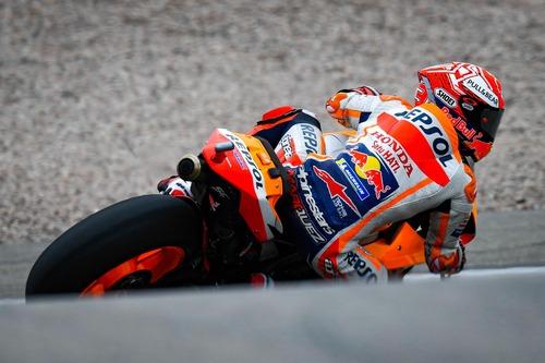MotoGP 2019. Márquez è il più veloce nelle FP2 in Germania (4)