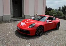 Porsche 911 MY2020, La 992 Carrera 4S al matrimonio [foto gallery]