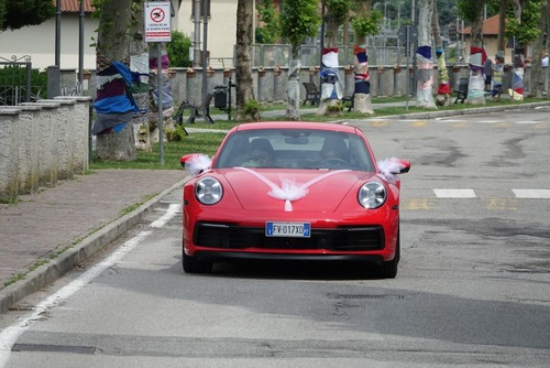 Porsche 911 MY2020, La 992 Carrera 4S al matrimonio [foto gallery] (9)
