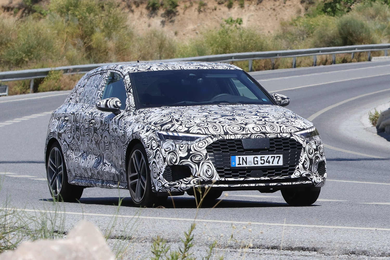 Audi S3 Sportback, le foto spia