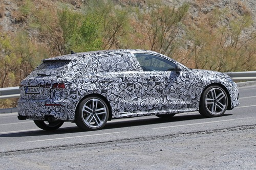Audi S3 Sportback, le foto spia (5)