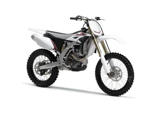 Le Yamaha da cross del 2012