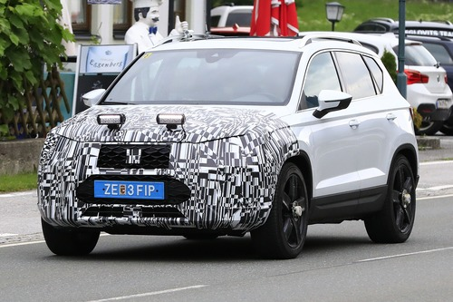 Seat Ateca restyling, le foto spia (3)