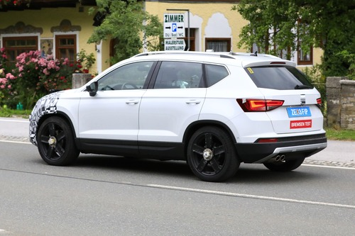 Seat Ateca restyling, le foto spia (7)