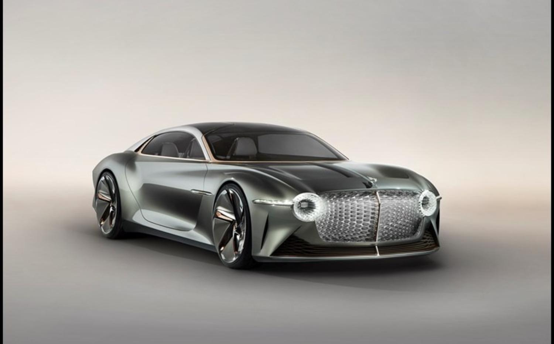 Bentley EXP 100 GT: prototipo elettrico e autonomo di coupé top anni Trenta