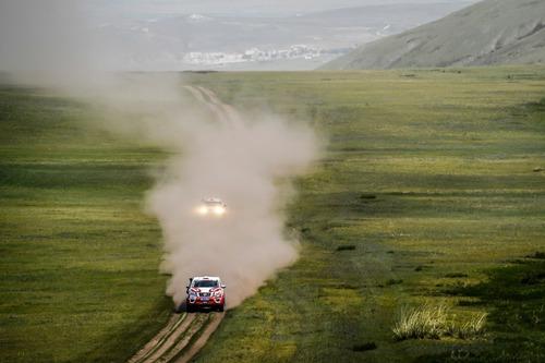 """Silk Way Rally 2019-4. L'Anello di Ulan Bator. Sam """"KTM"""" Sunderland e il solito Al """"Toyota"""" Attiyah (7)"""