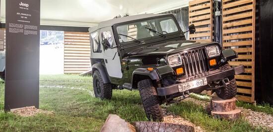 Tante vetture storiche e un mini museo al Camp Jeep 2019