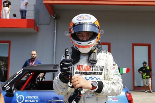 Diego Di Fabio, a 16 anni nel Mini Challenge: il racconto di Imola (3)