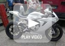 MV Agusta F3, il sound e le prime immagini in azione!