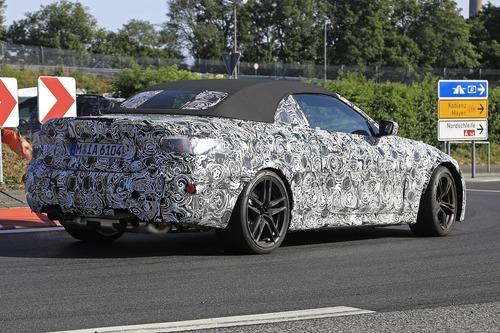 BMW M4 Cabrio: nuovo look e non solo... [Foto spia] (2)