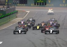 F1, GP Silverstone 2019: la partenza della gara [Video]