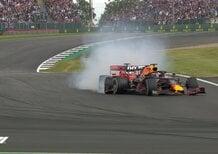 F1, GP Silverstone 2019: incidente tra Verstappen e Vettel [Video]